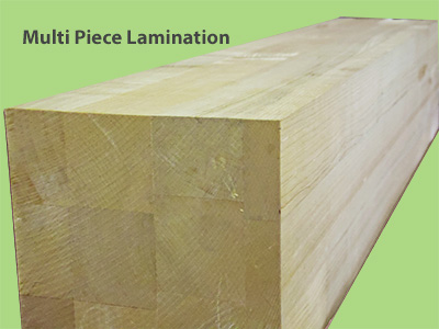 Multi Piece Lamination